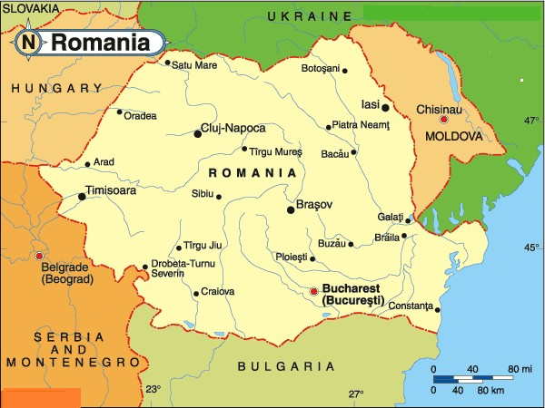 Exporter en Roumanie